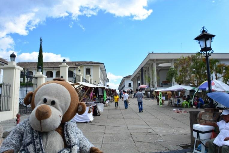 Mucuvinha caminhando por Popayán