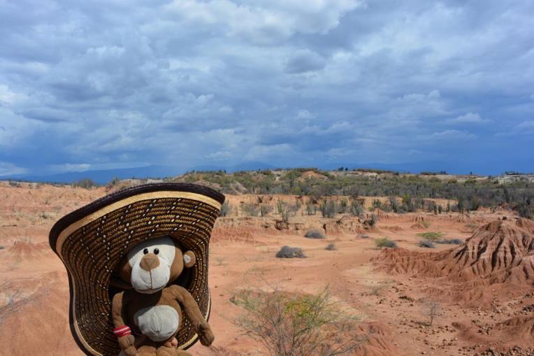Mucuvinha no deserto de Tatacoa