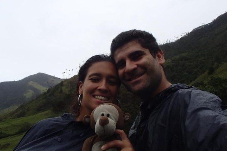 Um selfie no Vale de Cocora!