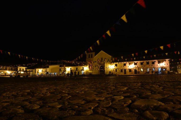 Villa de Leyva pela noite