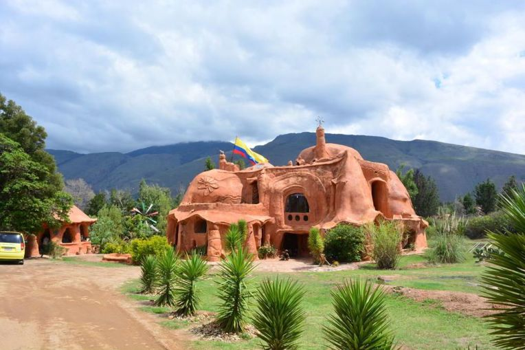 Casa de Terracota, em Villa de Leyva