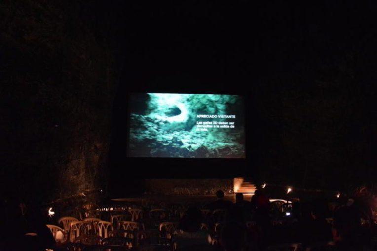 Cinema 3D, dentro das minas