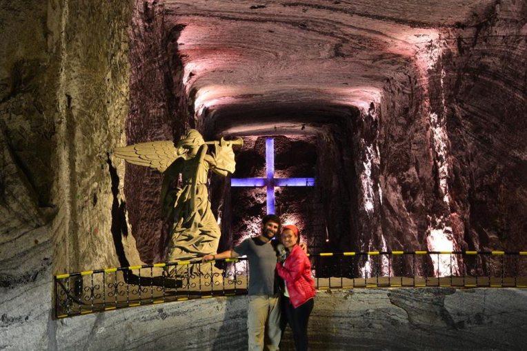 No mirador da Catedral de Sal