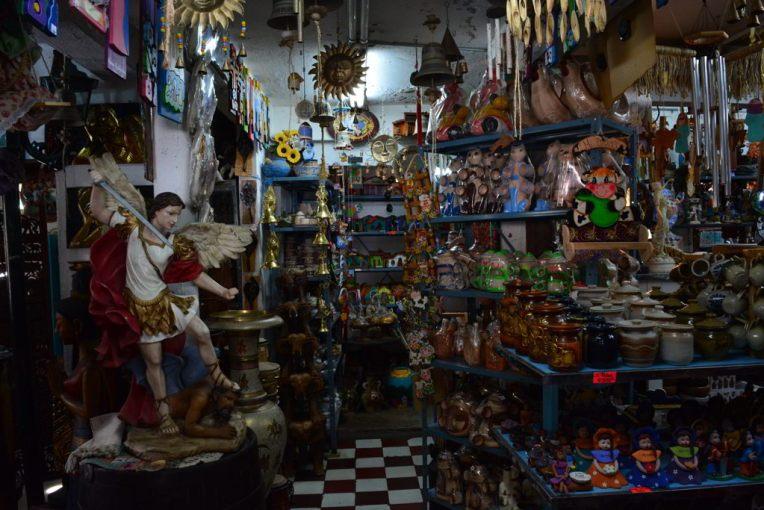 Loja de artesanato da Venezuela