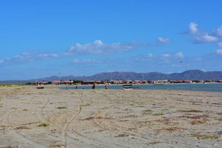 Praia de Cabo de la Vela, em La Guajira, Colômbia