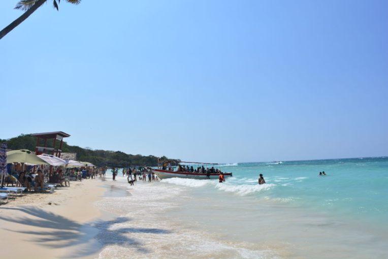 Lado muvucado da Playa Blanca