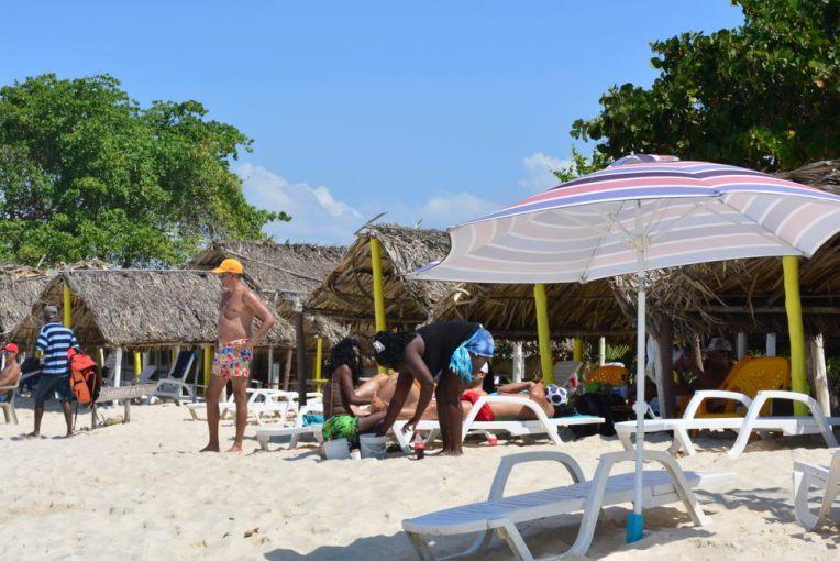 Playa Blanca, perto de Cartagena