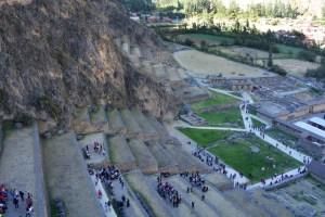 Ruínas de Ollantaytambo, no Vale Sagrado