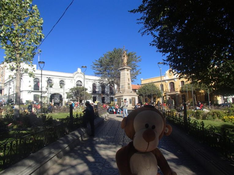 Mucuvinha no centro de Potosí
