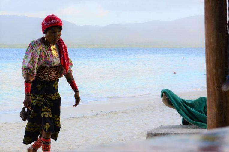 Mulher Kuna Yala em San Blas