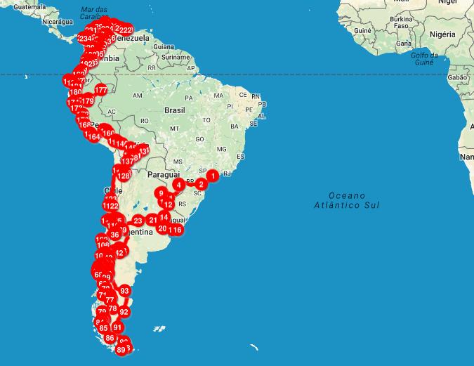 Mochilão América do Sul