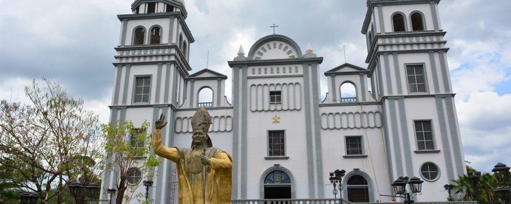 Fachada da Basílica de Suyapa