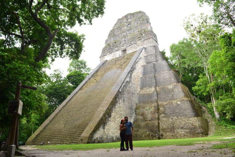 Templo V em Tikal