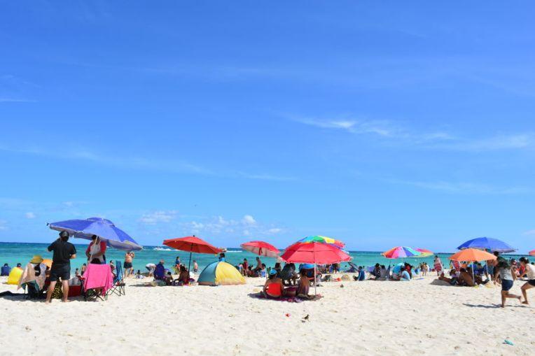 Praia de Playa del Carmen