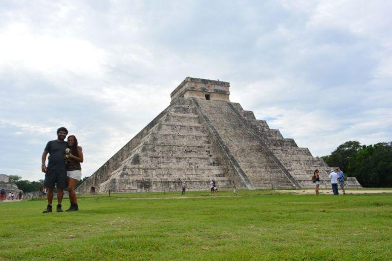 Pirâmide principal de Chichén Itzá