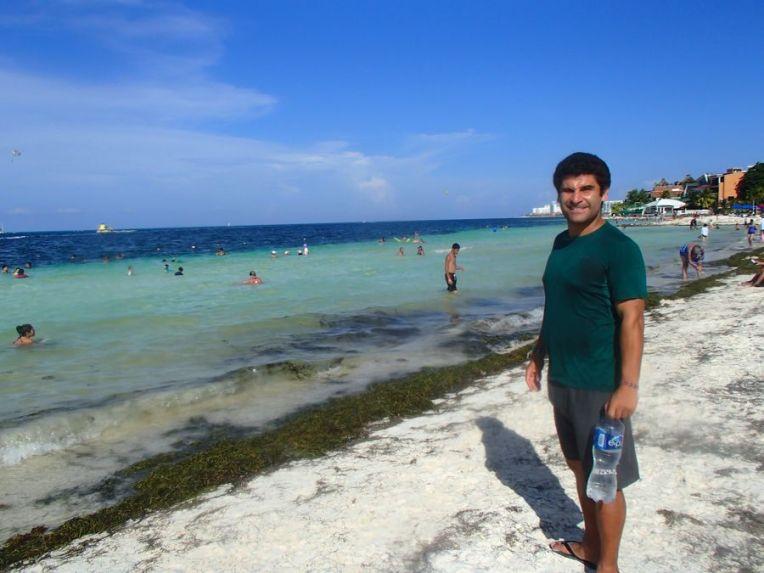 Na Playa Langosta, Cancún
