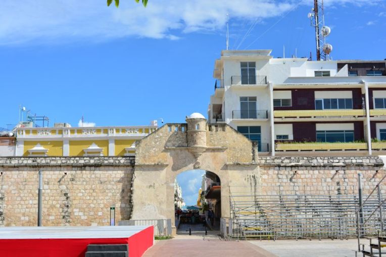 Puerta del Mar, Campeche