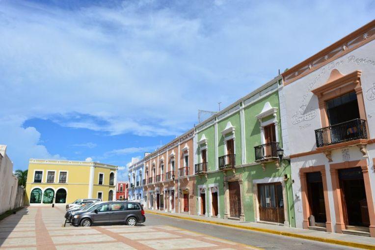 Tranquilas ruas de Campeche
