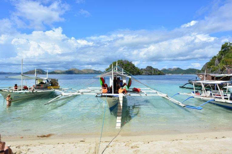 Praia de Atwayan, Coron, Palawan, Filipinas
