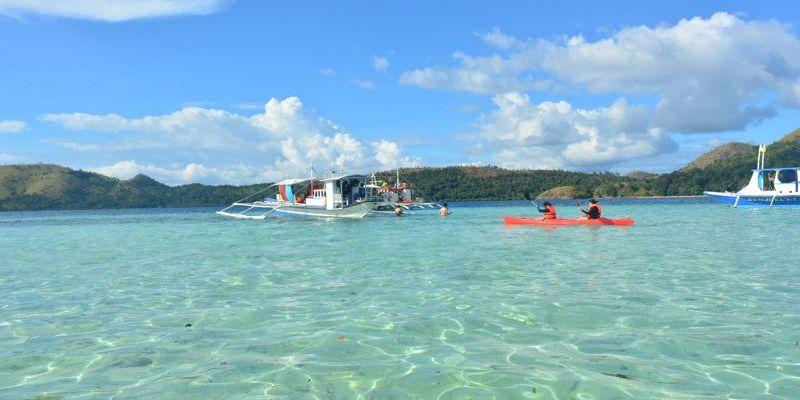 Praia CYC, Coron, Palawan, Filipinas