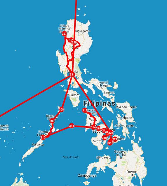Roteiro pelas Filipinas