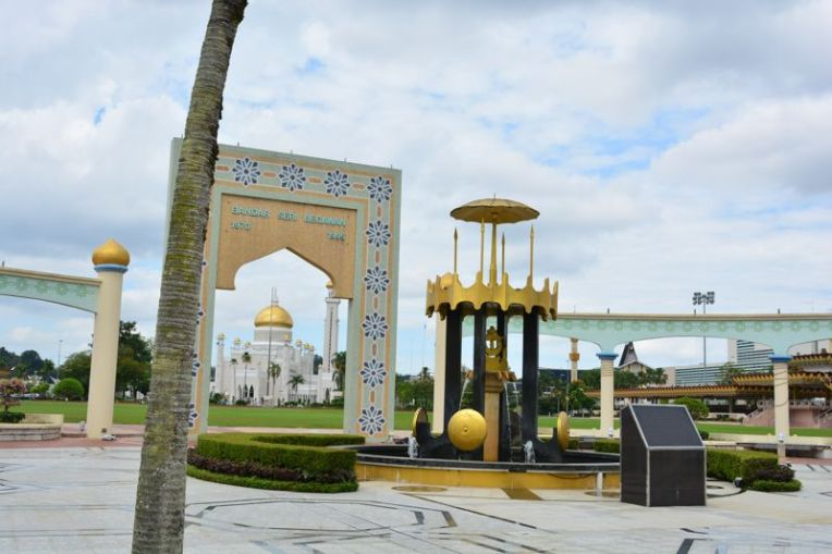 Praça da independência de Brunei