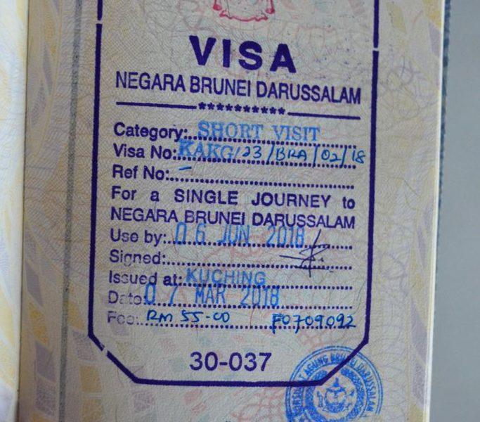 Visto de Brunei