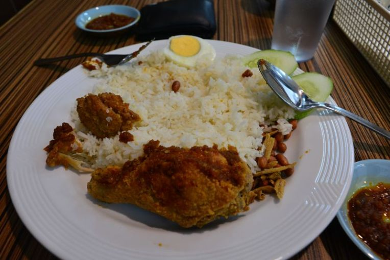 Almoço econômico em Brunei
