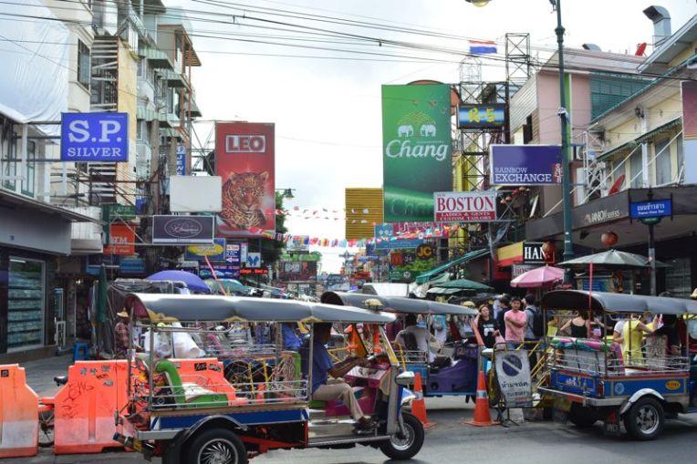 tuk tuk em Bangkok, Tailândia