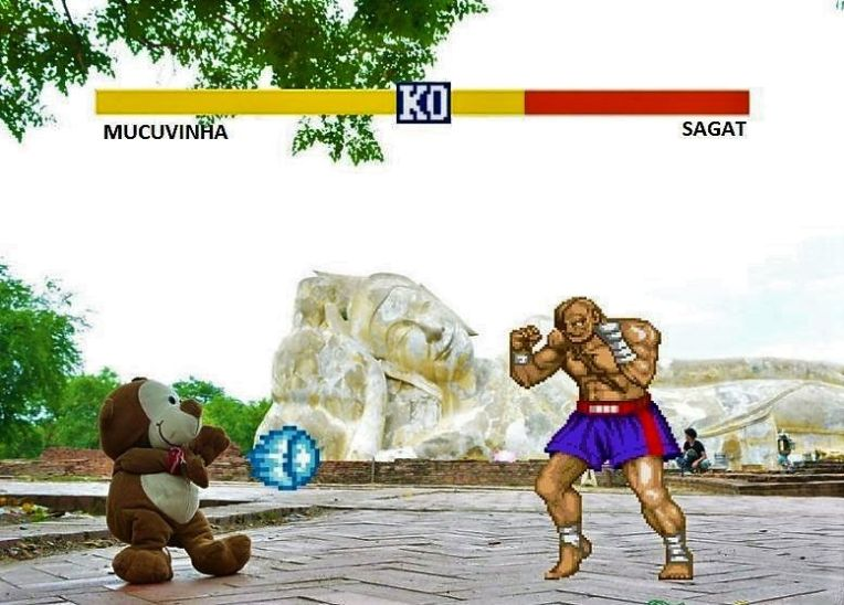 Cenário do Sagat - Street Fighter
