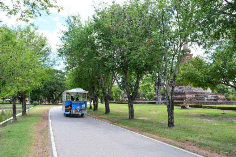 Bondinho de Sukhothai