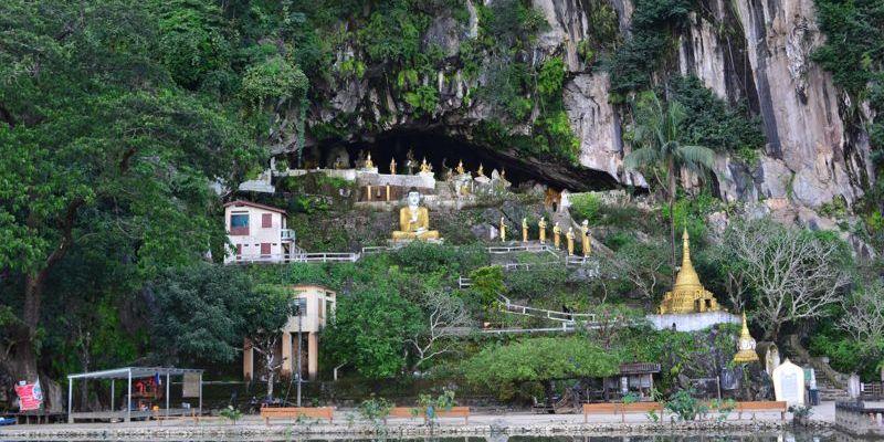 Gruta e templo de Yathaypyan
