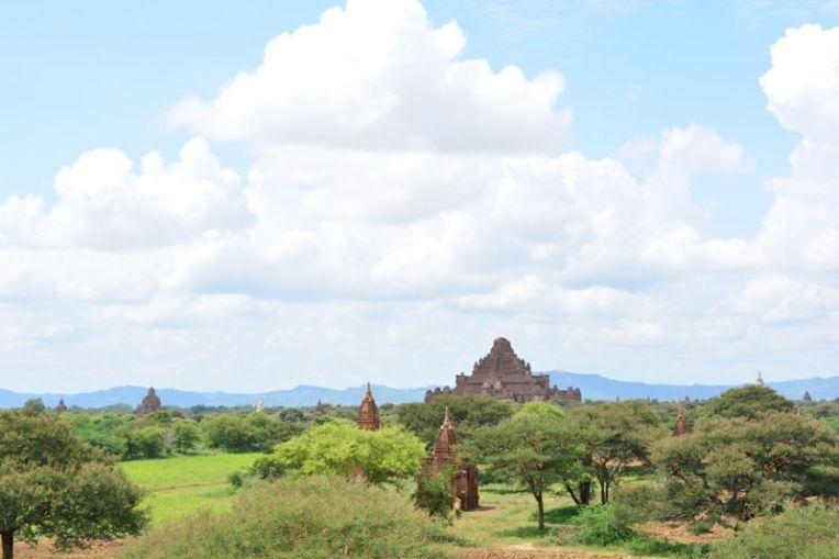 Vista panorâmica de Bagan