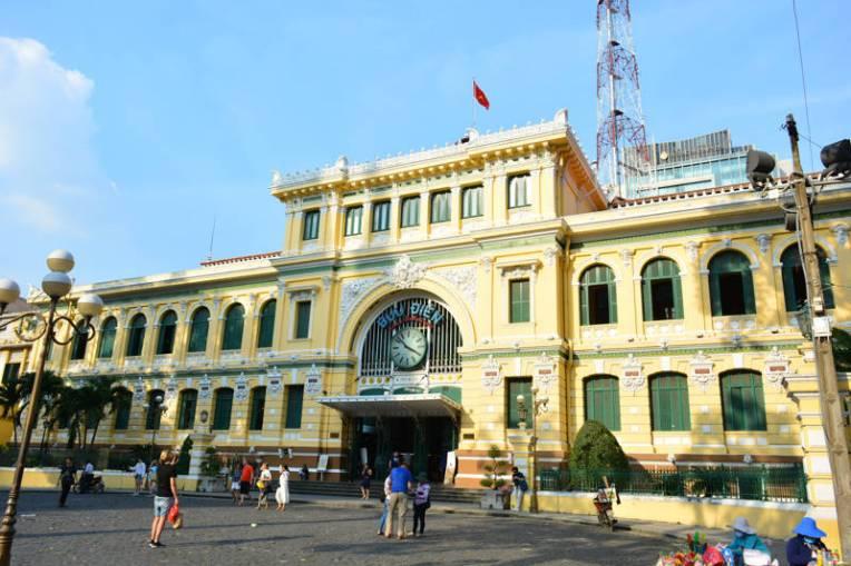 Edifício dos correios de Ho Chi Minh