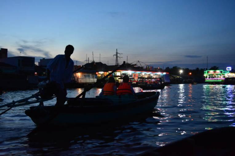Mercado Flutuante de Can Tho