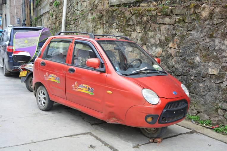 Táxi de Xinjie, China