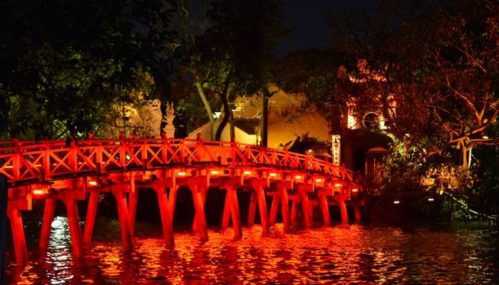 Lago Hoan Kiem, Hanói