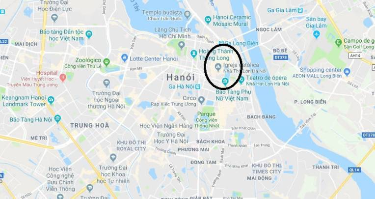 Onde se hospedar em Hanói