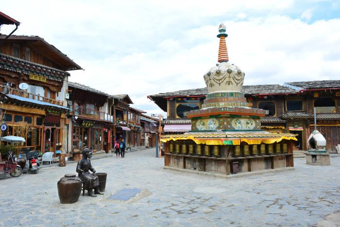 Stupa em Shangri-la, China