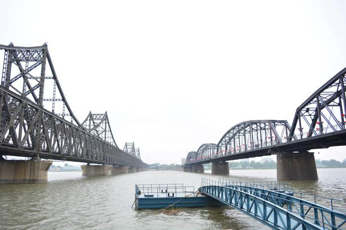 Ponte China - Coreia do Norte