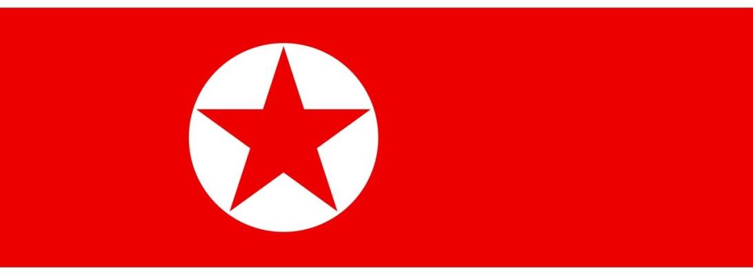 Bandeira Coreia do Norte