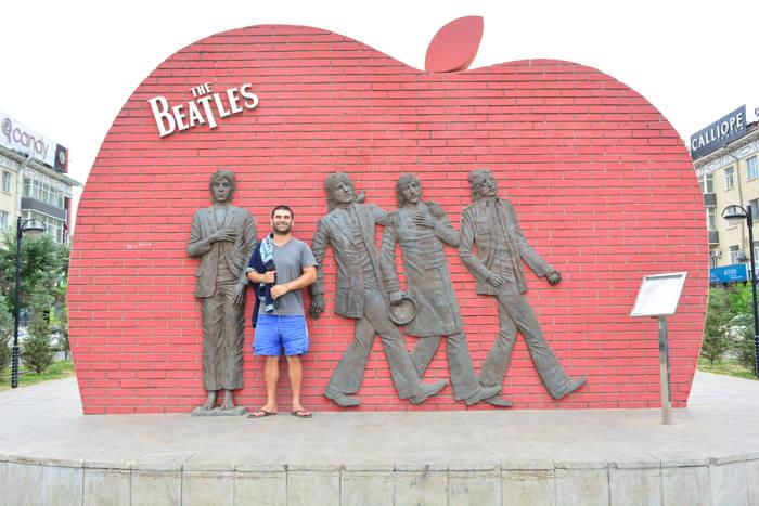 Praça dos Beatles - Ulan Bator
