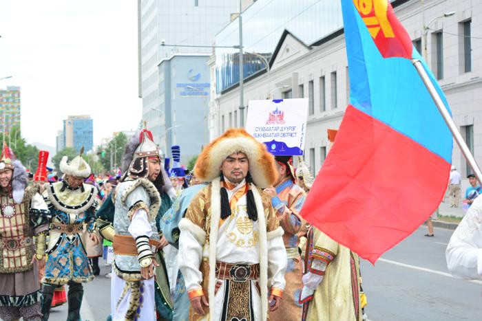 Naadam em Ulan Bator
