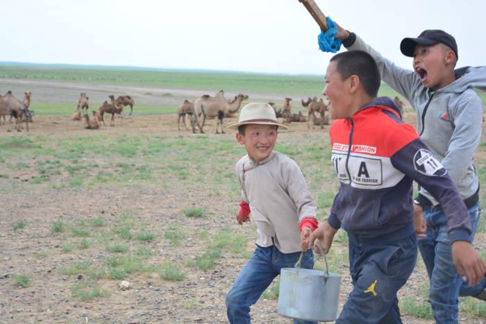 De carona pelo Deserto de Gobi