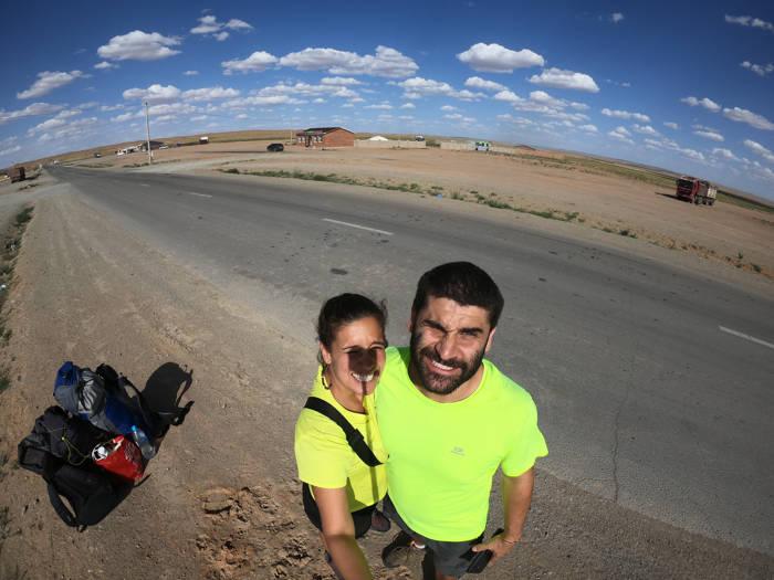Carona no Deserto de Gobi