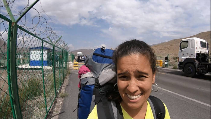 Fronteira Xinjiang - Quirguistão