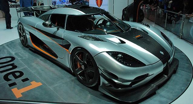 Carros mais rápidos do mundo - Koenigsseg One: 1