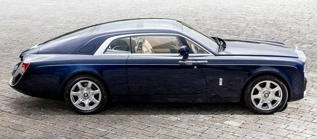 Top 10 carros mais caros do mundo - Rolls Royce Sweptail