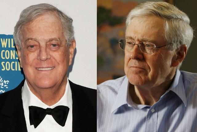 Top 10 homens mais ricos do mundo - Irmãos Koch