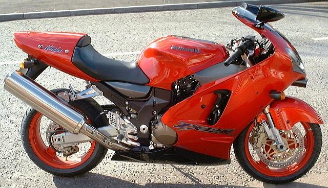 Top 10 motos mais rápidas do mundo - Kawasaki Ninja ZX-12R